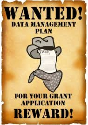 "OpenAIRE webinar ""How to write a Data Management Plan"""