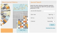 journal metrics by Elsevier